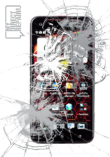 HTC Droid DNA Broken Screen Glass Repair