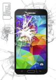Samsung Galaxy S5 Glass Replacement