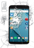 Google Nexus 6 Digitizer/Glass Repair