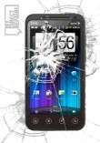 HTC Evo 3D Broken Screen Glass Repair