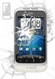HTC Wildfire S Broken Screen Glass Repair